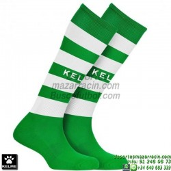 KELME GOL MEDIAS Futbol RAYAS color VERDE BLANCO equipacion deporte calcetin talla SOCK hombre niño 93114-218