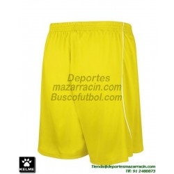 KELME PANTALON CORTO MUNDIAL Futbol color AMARILLO equipacion short SPORT talla hombre niño 78406-151