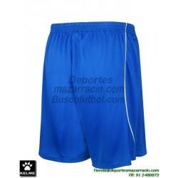 KELME PANTALON CORTO MUNDIAL Futbol color AZUL ROYAL equipacion short SPORT talla hombre niño 78406-703