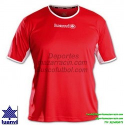 LUANVI CAMISETA PRO Futbol color ROJO Manga Corta talla equipacion hombre  niño 05163-0022 111c00e5ba1f4