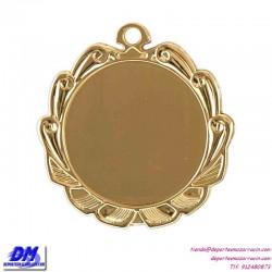Medalla deportiva 70 diametro 29918 oro plata bronce premio pallart grabado laser personalizada