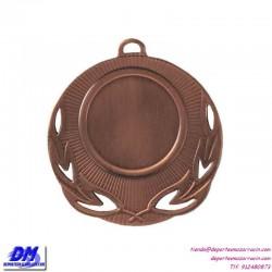 Medalla deportiva 50 diametro 29921 oro plata bronce premio pallart grabado laser personalizada