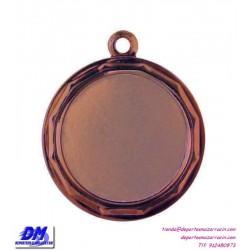 Medalla deportiva 32 diametro 29906 oro plata bronce premio pallart grabado laser personalizada