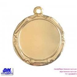 Medalla deportiva 34 diametro 29914 oro plata bronce premio pallart grabado laser personalizada