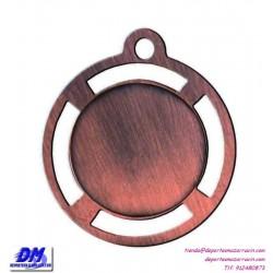 Medalla deportiva 35 diametro 29905 oro plata bronce premio pallart grabado laser personalizada