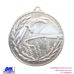 Medalla BALONCESTO 29904-01 diametro 50mm oro plata bronce premio pallart grabado laser personalizada