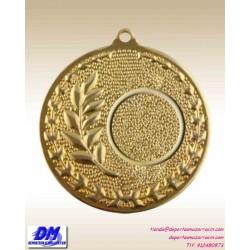 Medalla Medalla ANTORCHA OLIMIPICA 29975-91 diametro 50mm oro plata bronce premio pallart grabado laser personalizada