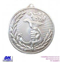 Medalla Medalla ANTORCHA OLIMIPICA 29904-91 diametro 50mm oro plata bronce premio pallart grabado laser personalizada