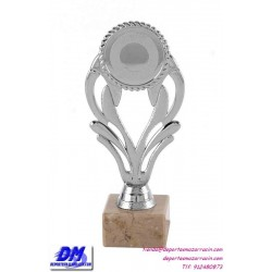 Trofeo copa economico 4291 diferentes alturas premio deporte pallart grabado chapa personalizado