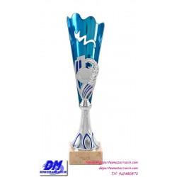 Trofeo copa economico 4295 diferentes alturas premio deporte pallart grabado chapa personalizado