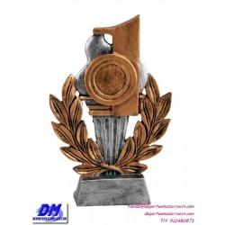 Trofeo copa participacion 4300/1 primero 1 oro economico premio deporte pallart grabado chapa personalizado