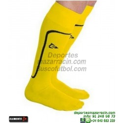 ELEMENTS STRIP LISA MEDIAS Futbol color AMARILLO equipacion deporte calcetin talla SOCK hombre niño 910810