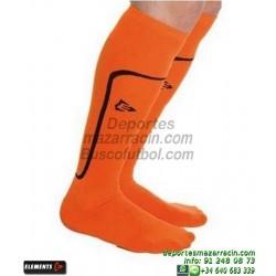 ELEMENTS STRIP LISA MEDIAS Futbol color NARANJA equipacion deporte calcetin talla SOCK hombre niño 910810