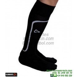 ELEMENTS STRIP LISA MEDIAS Futbol color NEGRO equipacion deporte calcetin talla SOCK hombre niño 910810