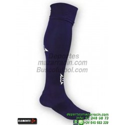 ELEMENTS EQUIP LISA MEDIAS Futbol color AZUL MARINO equipacion deporte calcetin talla SOCK hombre niño 910105