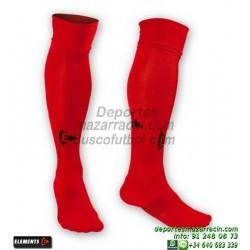 ELEMENTS EQUIP LISA MEDIAS Futbol color ROJO equipacion deporte calcetin talla SOCK hombre niño 910105