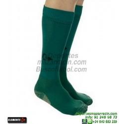 ELEMENTS PROTECNIC LISA MEDIAS Futbol color VERDE OSCURO equipacion deporte calcetin talla SOCK hombre niño 910104