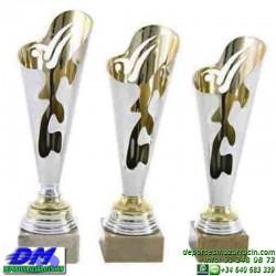 Trofeo copa economico 5284 diferentes alturas premio deporte pallart grabado chapa personalizado