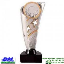 Trofeo copa economico 5304 diferentes alturas premio deporte pallart grabado chapa personalizado