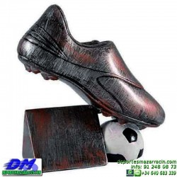 Trofeo copa participacion 5306 futbol bota economico premio deporte pallart grabado chapa personalizado
