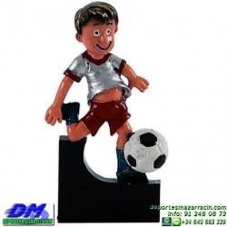 Trofeo copa participacion 5319-00 futbol economico premio deporte pallart grabado chapa personalizado