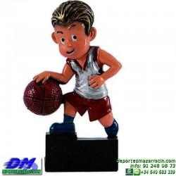 Trofeo copa participacion 5319-01 baloncesto economico premio deporte pallart grabado chapa personalizado