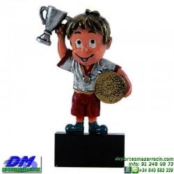 Trofeo copa participacion 5319-91 atletismo economico premio deporte pallart grabado chapa personalizado