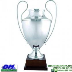 Trofeo copa clasica 5037 diferentes alturas champions europa premio deporte pallart grabado chapa grabada