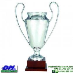 Trofeo copa clasica 5041 diferentes alturas champions europa premio deporte pallart grabado chapa grabada