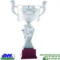Trofeo copa clasica 5063 diferentes alturas premio deporte pallart grabado chapa grabada