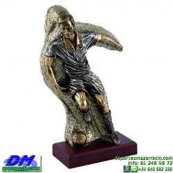 Trofeo Futbol 5404 jugador futbolista copa premio pallart chapa grabada diferentes tamaños alturas