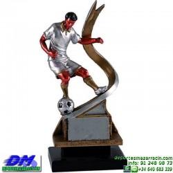 Trofeo Futbol 5407 jugador futbolista copa premio pallart chapa grabada diferentes tamaños alturas