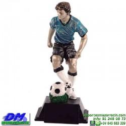 Trofeo Futbol 5410 jugador futbolista copa premio pallart chapa grabada diferentes tamaños alturas