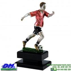 Trofeo Futbol 5412 jugador futbolista copa premio pallart chapa grabada diferentes tamaños alturas