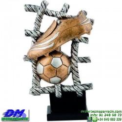 Trofeo Futbol 5424 bota jugador futbolista copa premio pallart chapa grabada diferentes tamaños alturas