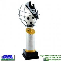 Trofeo Futbol 5426 bota jugador futbolista copa premio pallart chapa grabada diferentes tamaños alturas