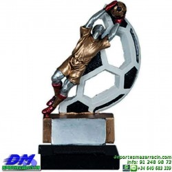 Trofeo Futbol 5435 portero arquero futbolista copa premio pallart chapa grabada diferentes tamaños alturas