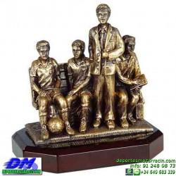 Trofeo Futbol 5441entrenador coach manager copa premio pallart chapa grabada diferentes tamaños alturas
