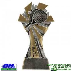 Trofeo Padel 5445 copa premio pala jugador diferentes alturas pallart tamaños chapa grabada