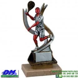 Trofeo Padel 5447 copa premio pala jugador diferentes alturas pallart tamaños chapa grabada