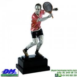 Trofeo Padel 5457 copa premio pala jugador diferentes alturas pallart tamaños chapa grabada