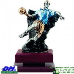 Trofeo Balonmano 5516 balon jugador premio diferentes alturas pallart tamaños chapa grabada