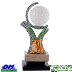Trofeo Golf 5524 pelota golfista premio diferentes alturas pallart tamaños chapa grabada