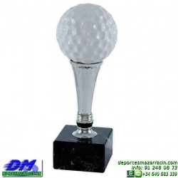 Trofeo Golf 5527 pelota golfista premio diferentes alturas pallart tamaños chapa grabada