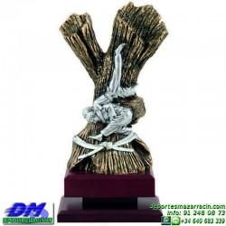Trofeo Judo 5621 judoca yudoca premio diferentes alturas pallart tamaños chapa grabada