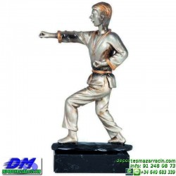 Trofeo Karate 5623 karateca premio diferentes alturas pallart tamaños chapa grabada