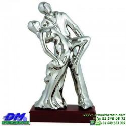 Trofeo Baile 5644 bailarines bachata danza premio pallart chapa grabada