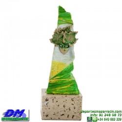 Trofeo Carnaval 5653 mascara disfraz fiesta premio pallart diferentes alturas tamaños chapa grabada