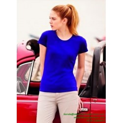 CAMISETA Mujer Economica FRUIT OF THE LOOM VALUEWEIGHT 61372 deporte sport ALGODON color entrenamiento grupo peña equipo