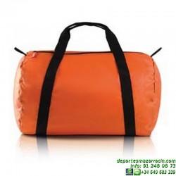 BOLSA DE VIAJE PLEGABLE Economica publicidad sportwear BAG deporte KI0604 colores grupo asociacion EQUIPO